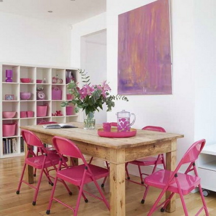 10 dining rooms paints with lots of color 4
