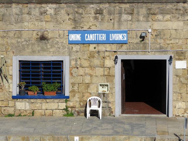 Unione Canottieri Livornesi (Livorno Rowing Club), Fosso Reale (Royal Canal), Livorno
