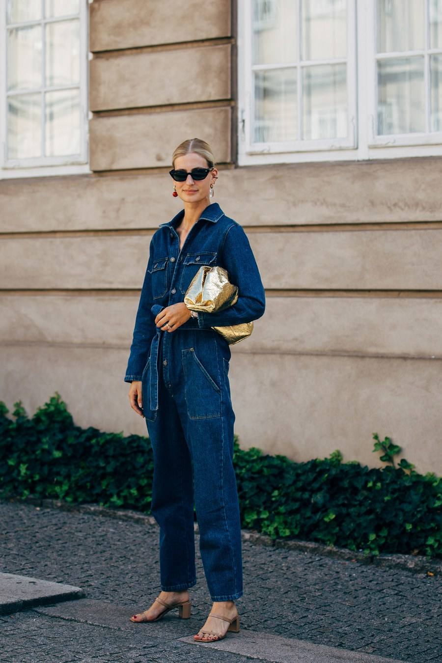 14 Denim Jumpsuits We Love for Fall  — Copenhagen Street Style Outfit