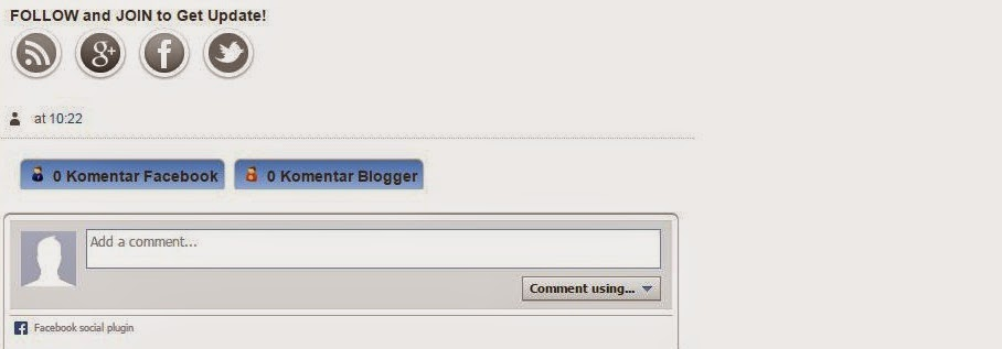 Cara Membuat Komentar Facebook Bersebelahan di Blog, 100% Mudah