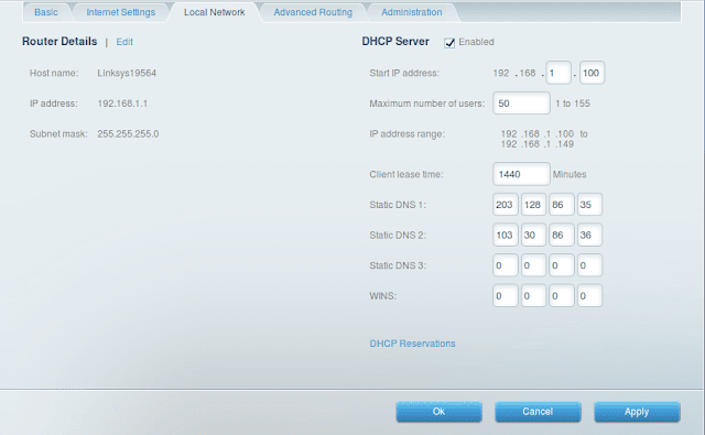 Basic Setting Router Cisco Linksys Smart Wifi