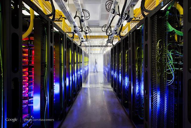 Um dos Data centers do Google