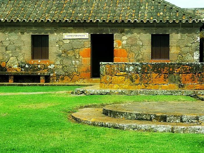 Casa do Comandante, no Fuerte de San Miguel, Chuy