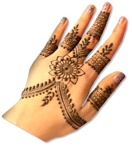 Jewellery Mehndi Designs