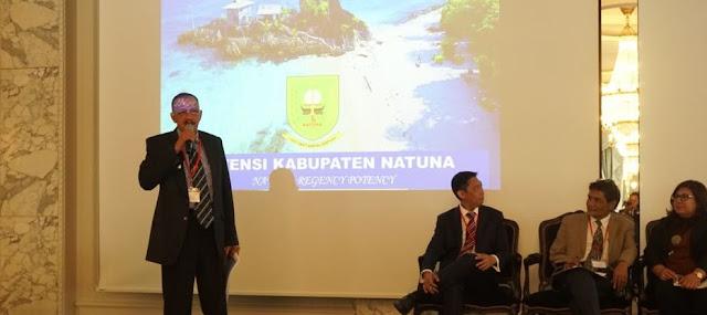 Buka Peluang Investasi, Bupati Natuna Paparkan Potensi Wilayahnya di Eropa