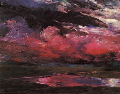 Emil Nolde - drifting clouds