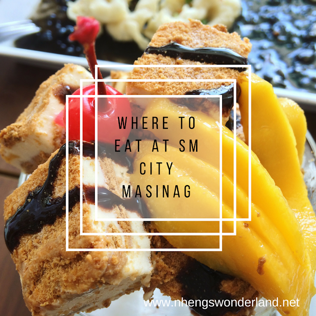 Where To Eat at SM City Masinag