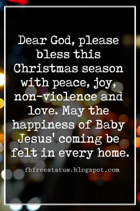 Christmas Blessings Images
