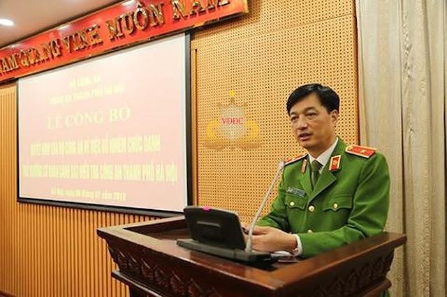 Bổ nhiệm chức danh tư pháp các đơn vị trực thuộc Bộ Công an
