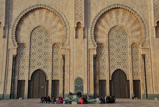 conhecer Casablanca no Marrocos e a Mesquita Hassan II
