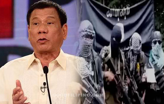 Duterte to AFP: 'Destroy them (Abu Sayyaf), that's an order