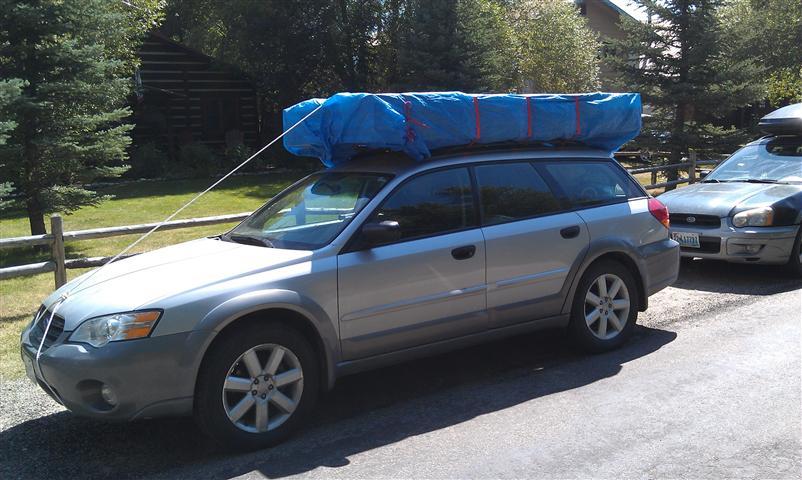 Transporting Hexayurt Burningman