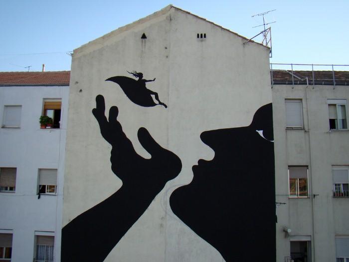 Фотографии работ уличного художника. Sam3 25