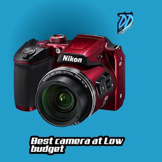 Nikon Coolpix B500 Red Camera Review