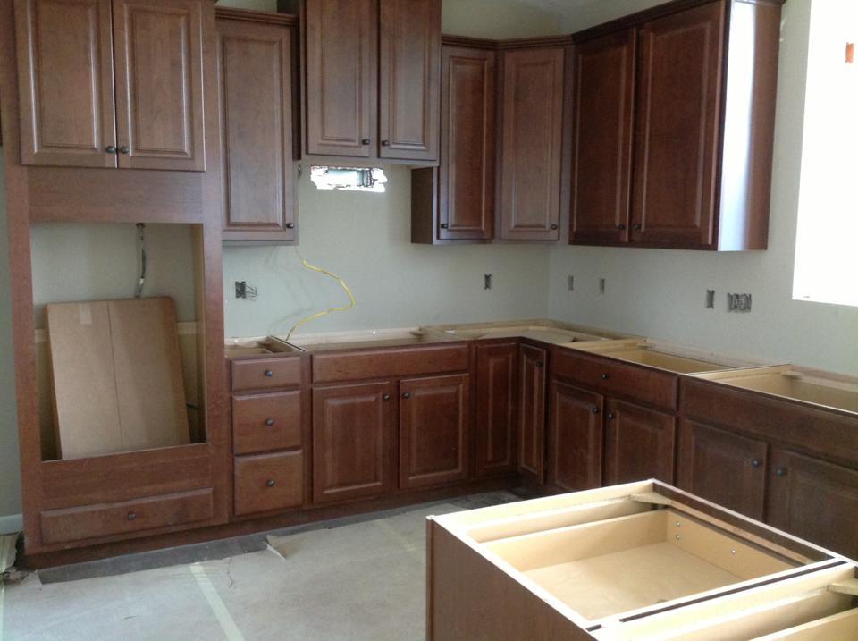 Building Our Ryan Homes Dunkirk: Kitchen coming together