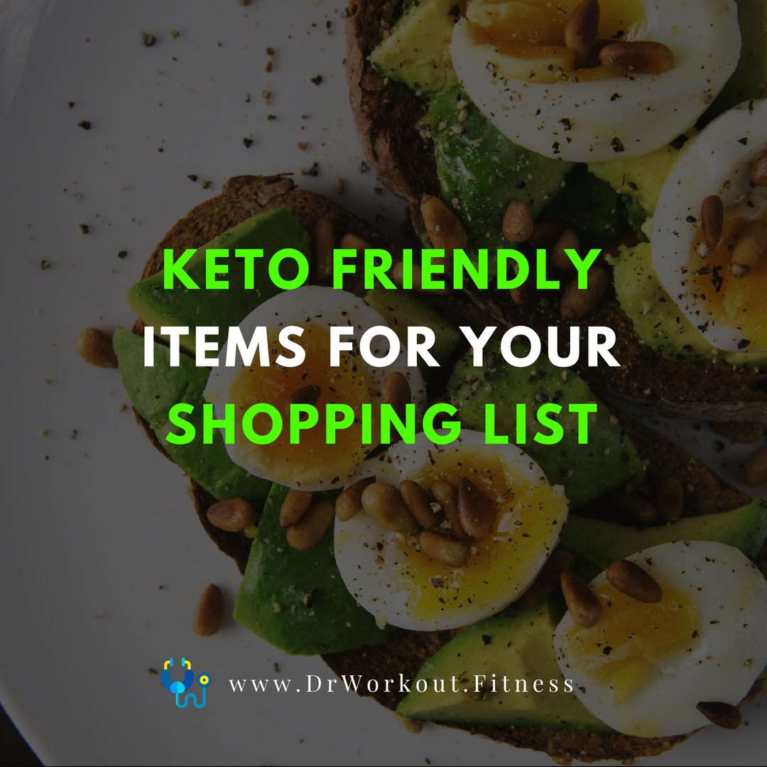 Keto Items For Your Shopping List