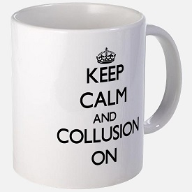 cool calm and colluded