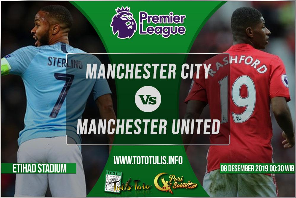 Prediksi Manchester City vs Manchester United 08 Desember 2019