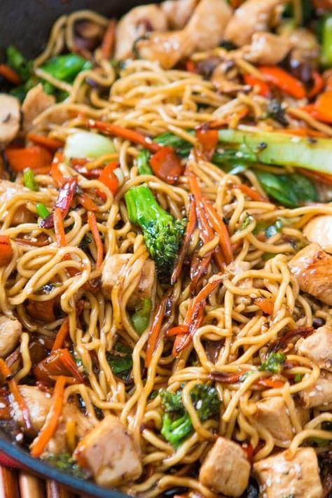 QUICK AND EASY 15 MINUTE CHICKEN STIR FRY #quickrecipes #easyrecipes #chicken #chickenrecipes #stir #fry #dinner #dinnerideas #dinnerrecipes