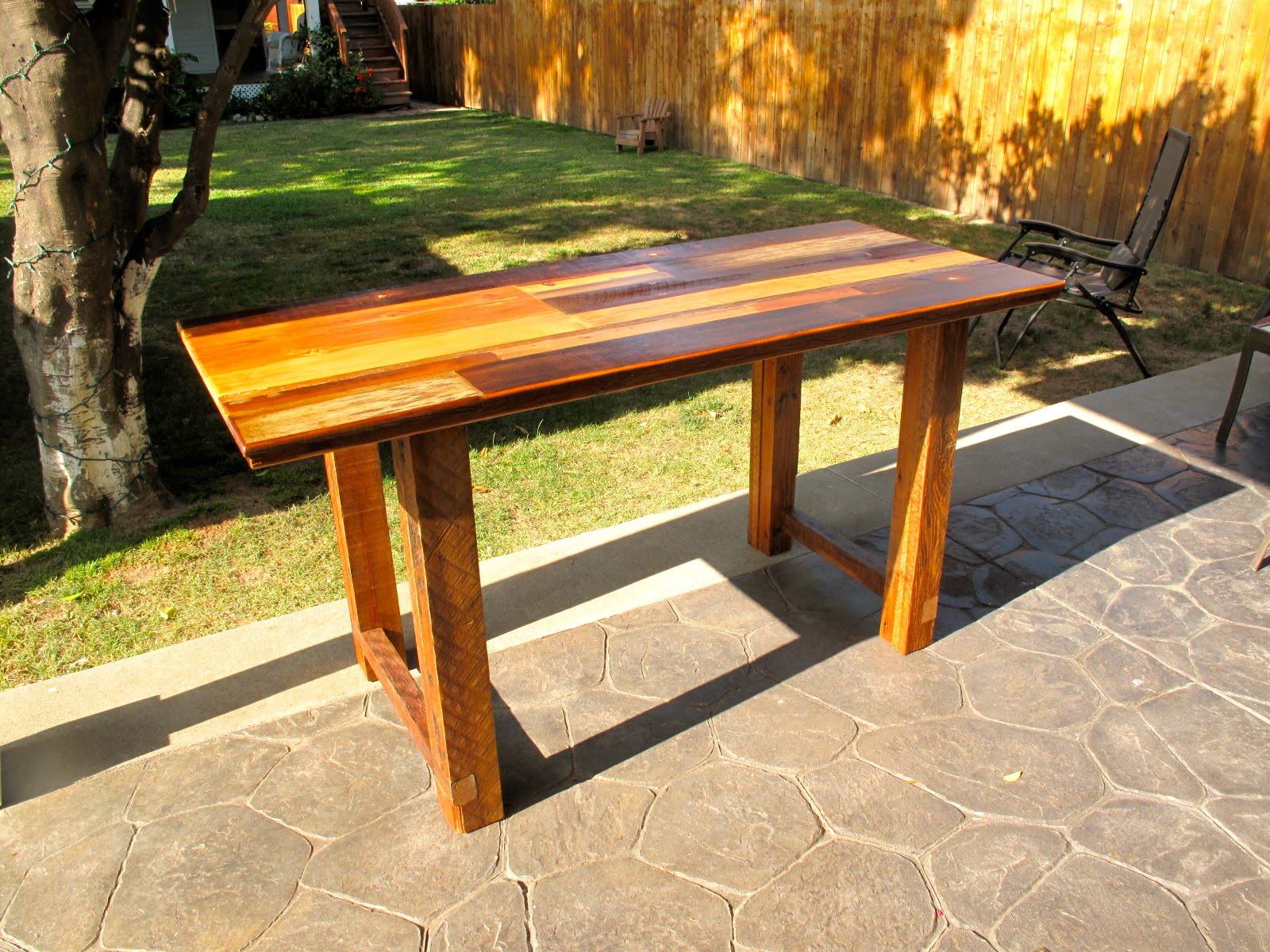 arbor exchange reclaimed wood furniture patchwork kitchen work table. Black Bedroom Furniture Sets. Home Design Ideas