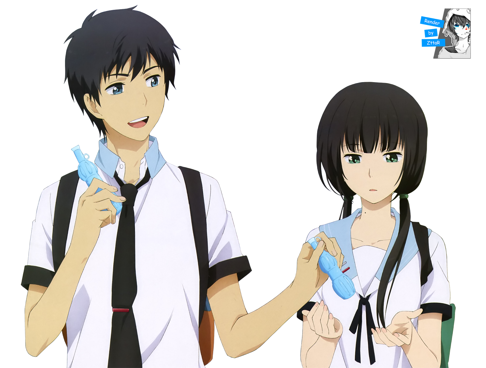 My top 28 fantasy couples - Page 2 ReLIFE%2BRender%2B04