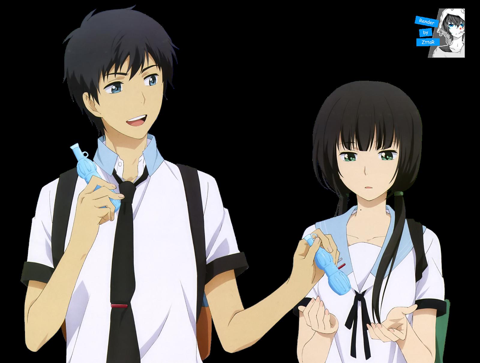 Render Kaizaki Arata & Hishiro Chizuru