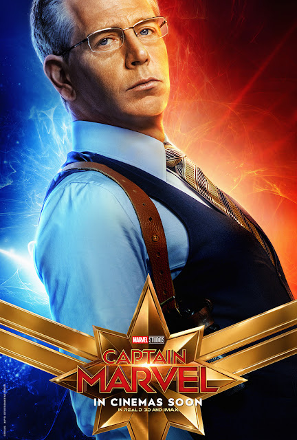captain marvel character poster