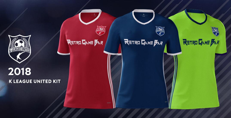 K League United 2018 Kits