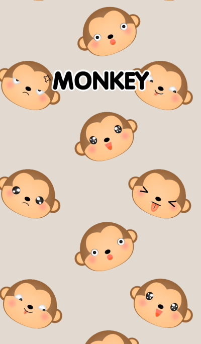 Emotions Face Monkey Theme(jp)