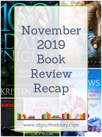 November 2019 Book Review Recap | About That Story