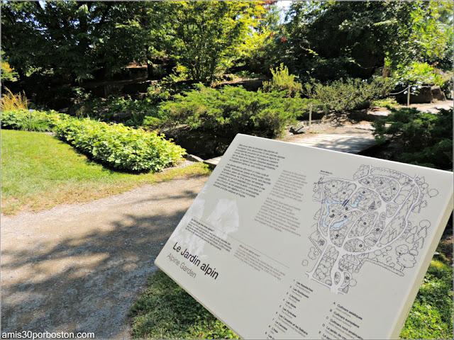 Jardín Alpino en el Jardín Botánico de Montreal