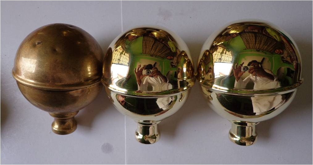 H Iron Manufacturers Mail: Brass Bed Parts Exporters: Replacement Brass Bed Knobs