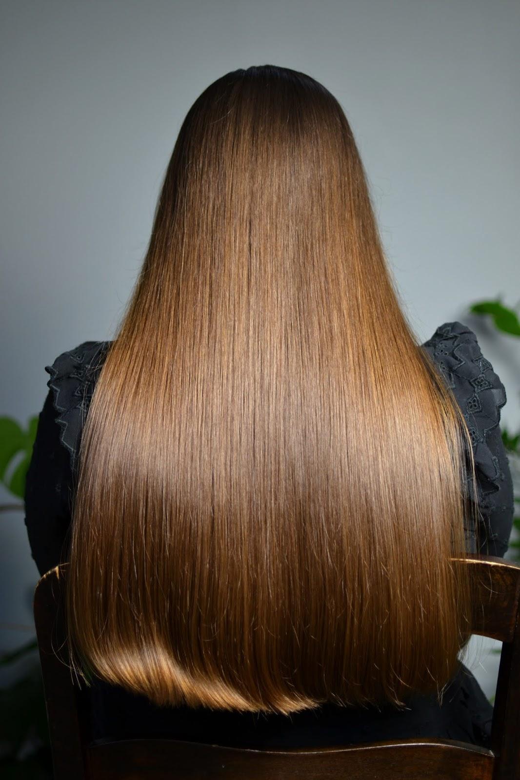 proste włosy blog