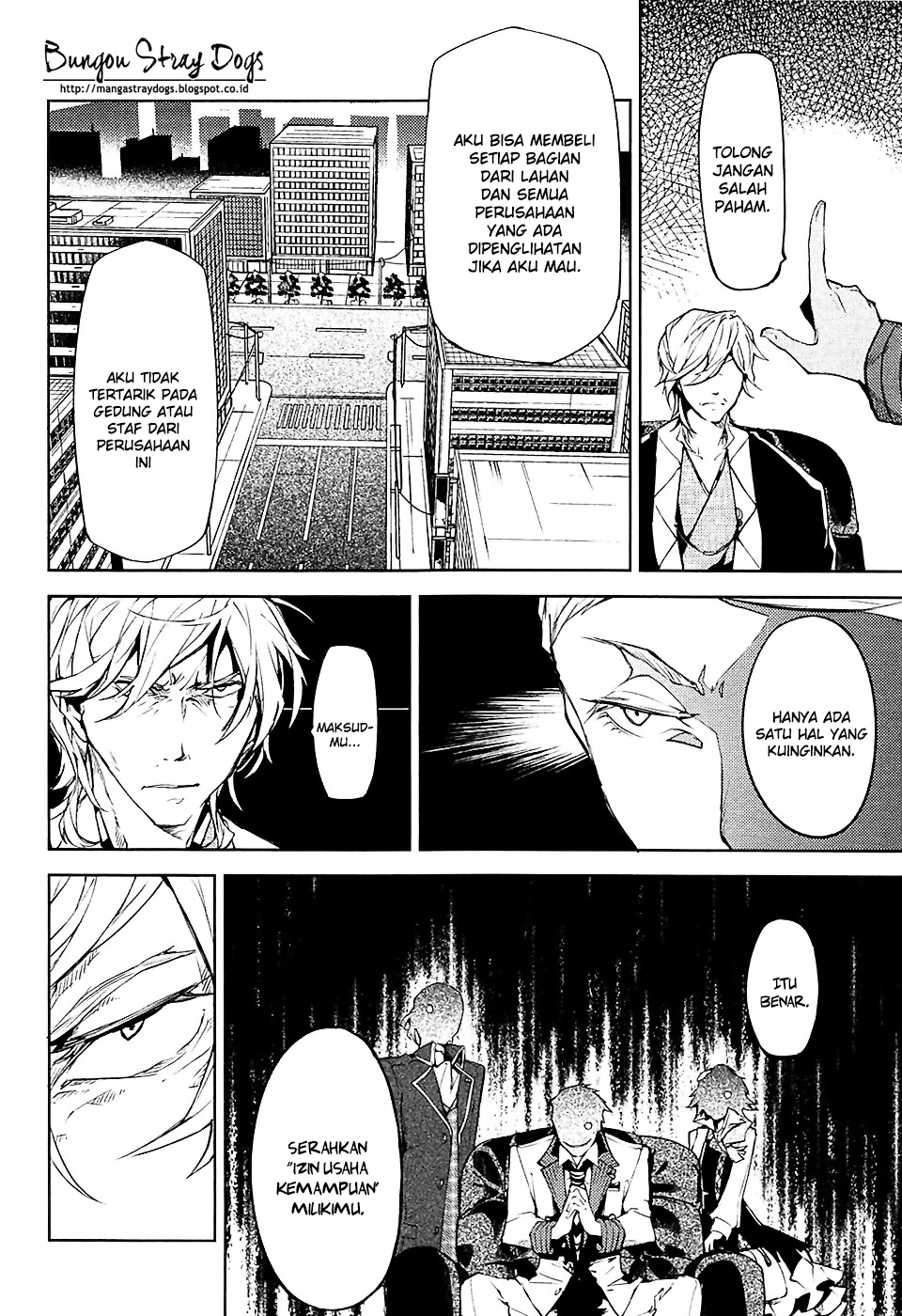 Bungou Stray Dogs Chapter 15-15