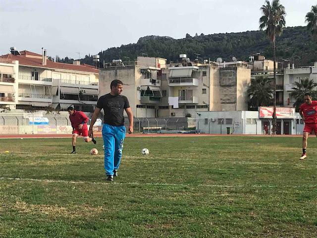 Στο προπονητικό team του Ναύπλιο 2017 ο Κωνσταντίνος Πασπαλιάρης