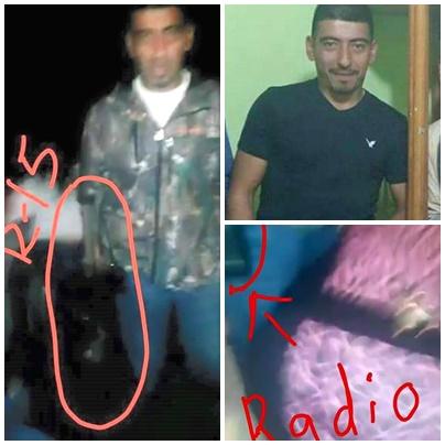 """FILTRAN FOTO DE """"EL MEMO"""" MANO DERECHA DE """"EL BOLUDO"""" DEL CDG DE CAMARGO"""