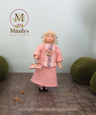 """minilys miniatures"" ""doll dress"" ""park"" 1:12"