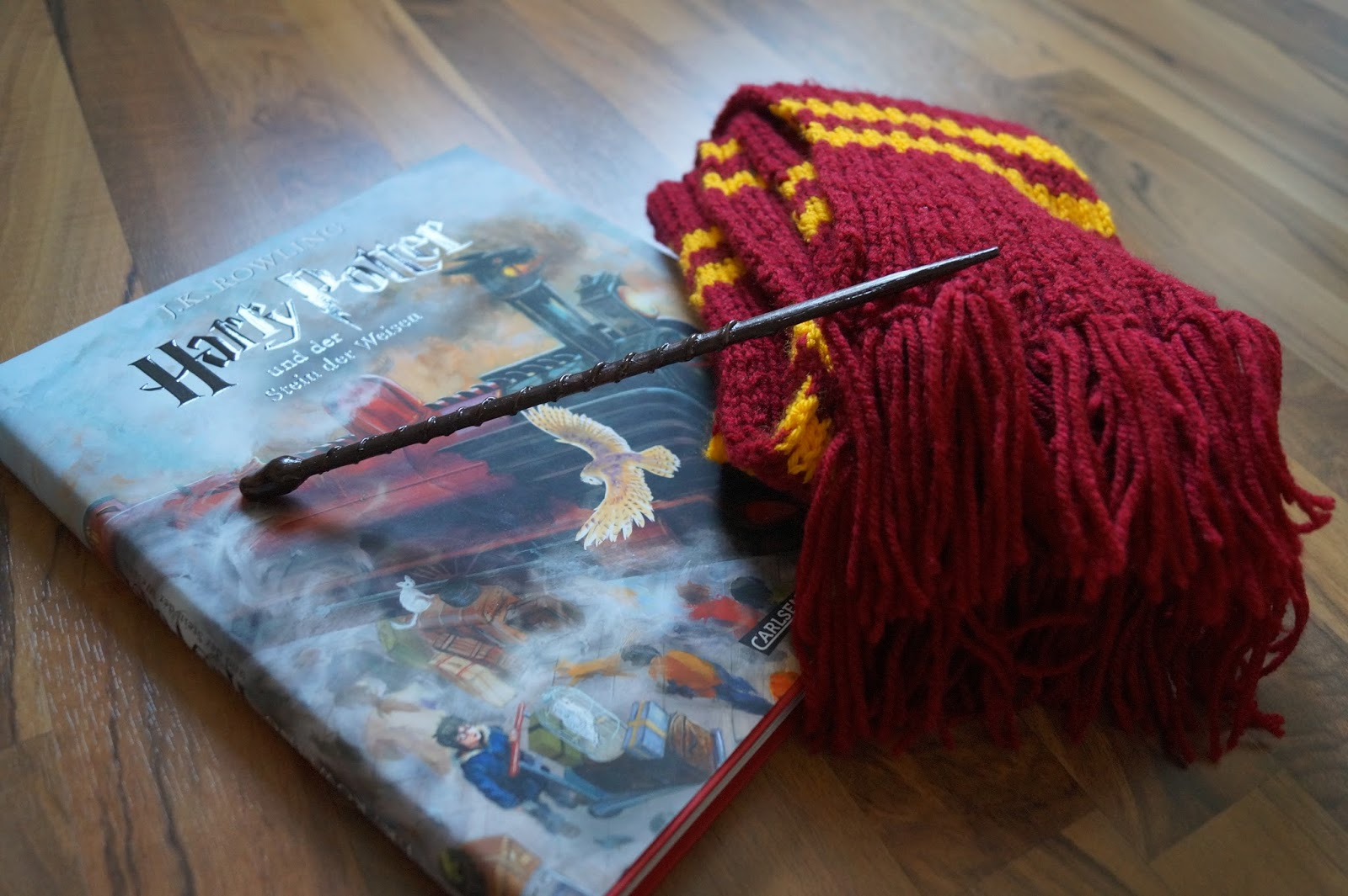 Rike.strickt: Harry Potter Schal - mit Anleitung