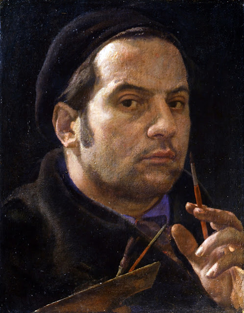 Pietro Annigoni, Portraits of Painters, Self Portraits