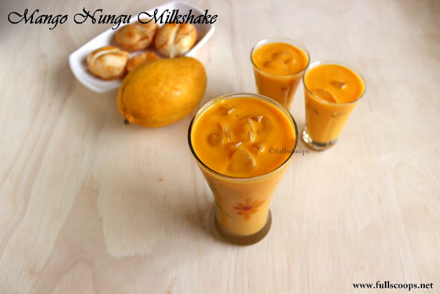 Mango Nungu Milkshake