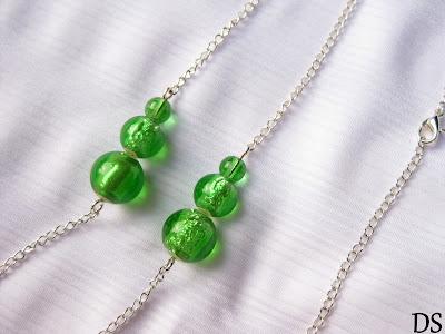 Zielone bałwanki latem