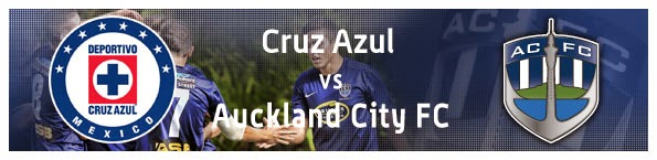 Auckland City vs Cruz Azul