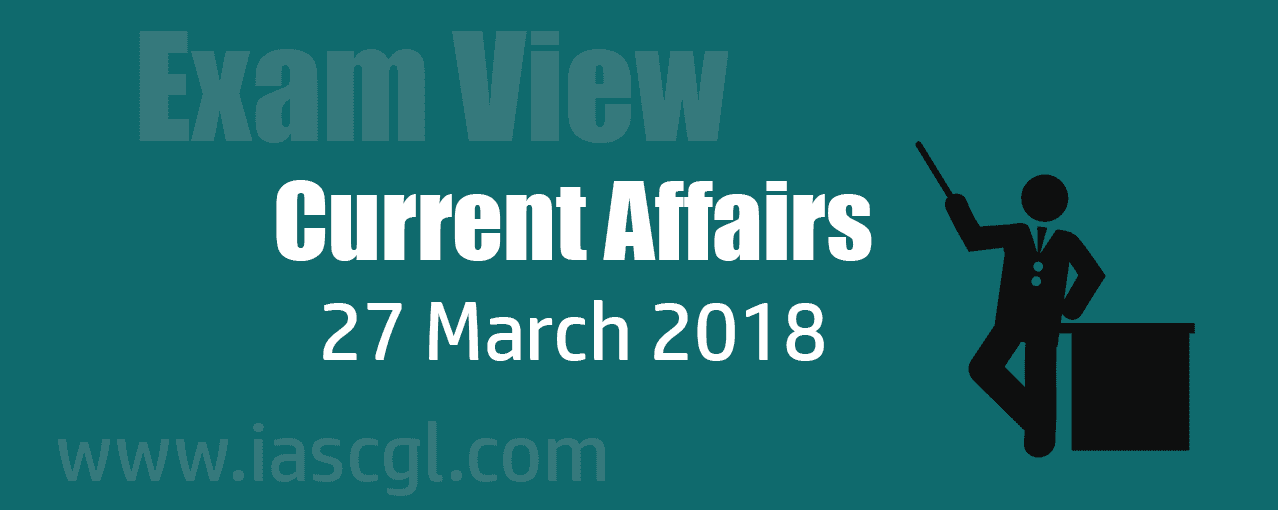 Current Affair 27 march 2018