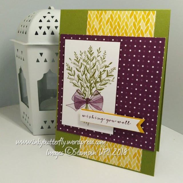 Wishing You Well from Stampin Up