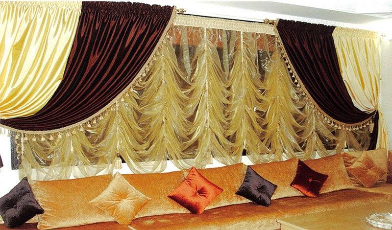 Rideau Marocain Moderne 2014 | Salon Marocain