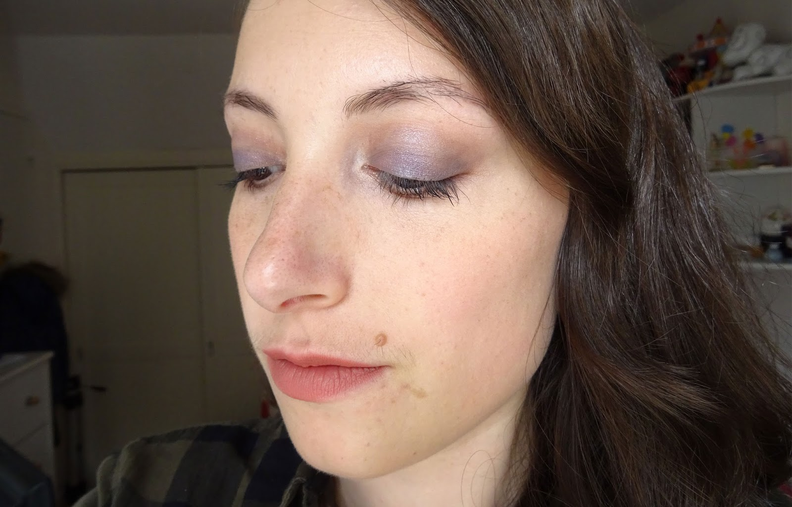 Maquillage violet automnal avec la Chocolate Bar tuto