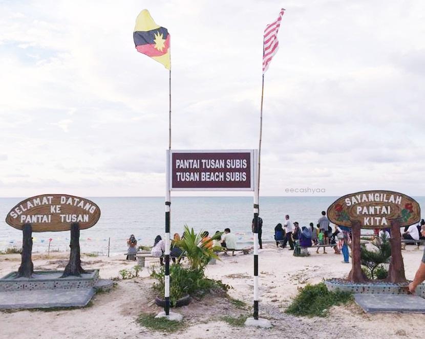 tusan beach miri