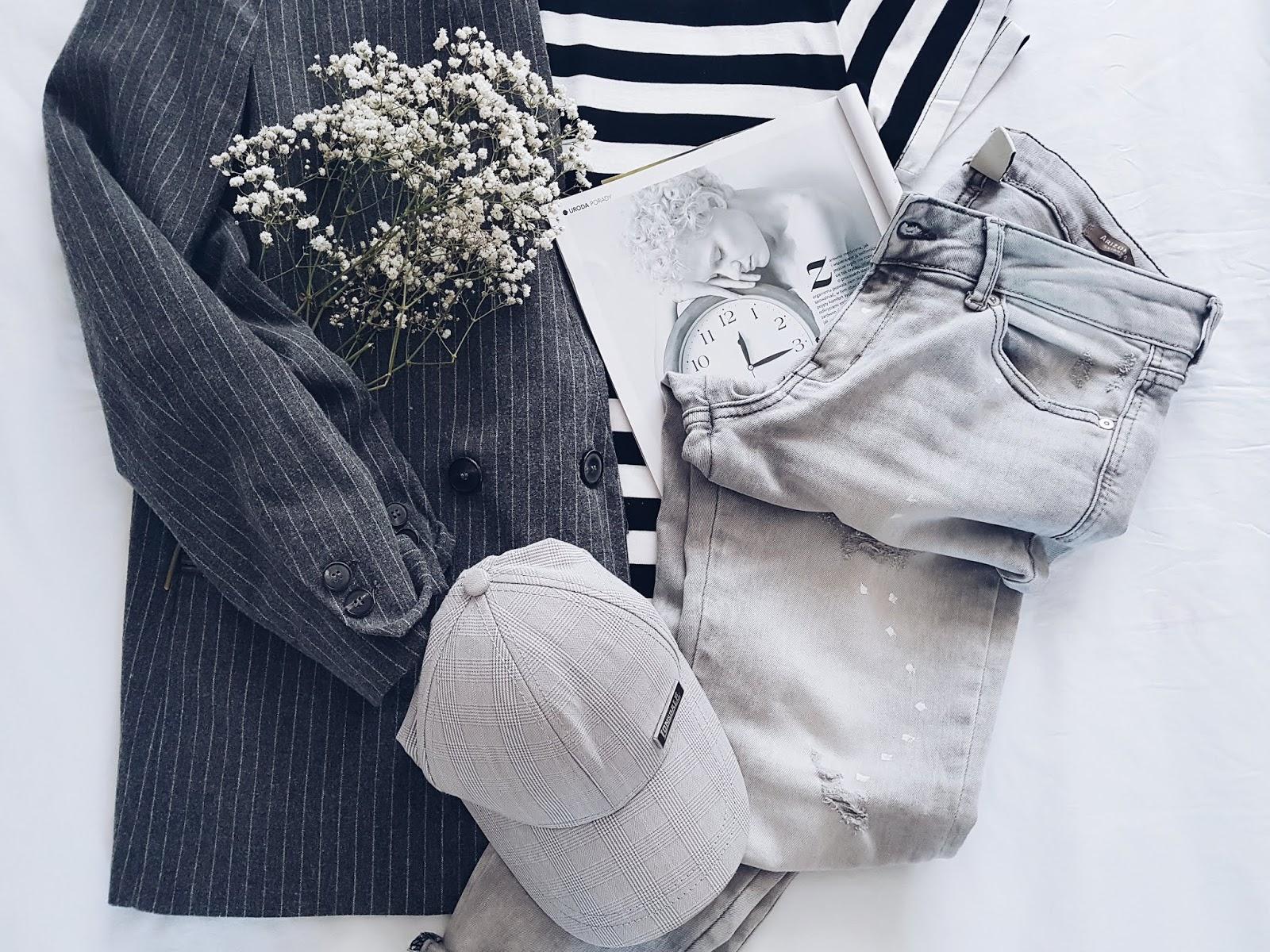 Grey summer (look) czyli letni casual w odcieniach szarości