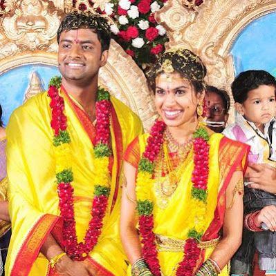 Hemachandra and Sravana Bhargavi  wedding photo000010