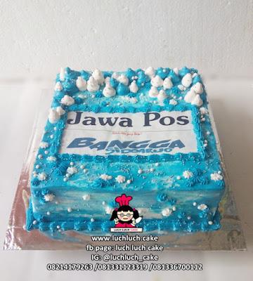 Kue Tart Jawa Pos -  Bangga Sidoarjo